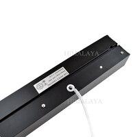 Toika Fedex 1200mm quatro pés 20 w tubo Pendurado bar montado luz do painel de escritório 6 PCS