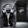 New Game of Thrones Winter is Coming Stark Sweatshirts Hoodies Velvet Coat USA Size