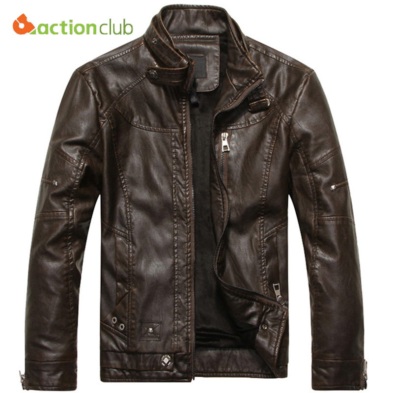 Mountainskin Leather Jacket Men Coats 5XL Brand High Quality PU Outerwear Men Business Winter Faux Fur