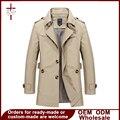Ropa De Hombre Chaquetas Ropa de la Marca Para Hombre Abrigo de invierno Larga Chaqueta de Bombardero Chaqueta Larga Trench Coat Tamaño M-5XL 1306