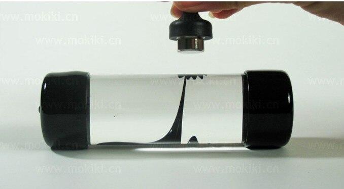 Ferrofluido en una Botella de Líquido Magnético imán de neodimio cilíndricos oficina juguetes ciencia, Descompresión juguetes creativos de La Novedad regalo