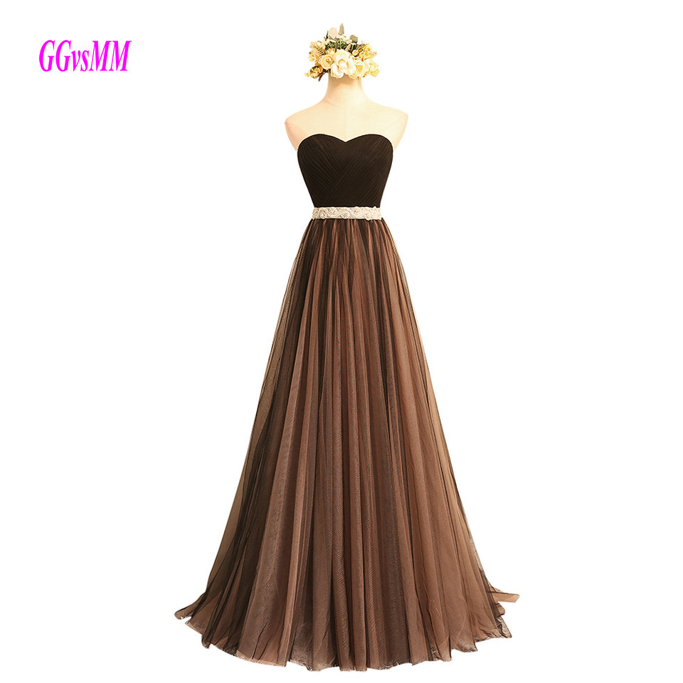 Fashion   Prom     Dresses   Long 2019 Women   Prom     Dress   Plus Size Sweetheart Sashes Lace Up A-Line Formal Party Gown Evening In Stock