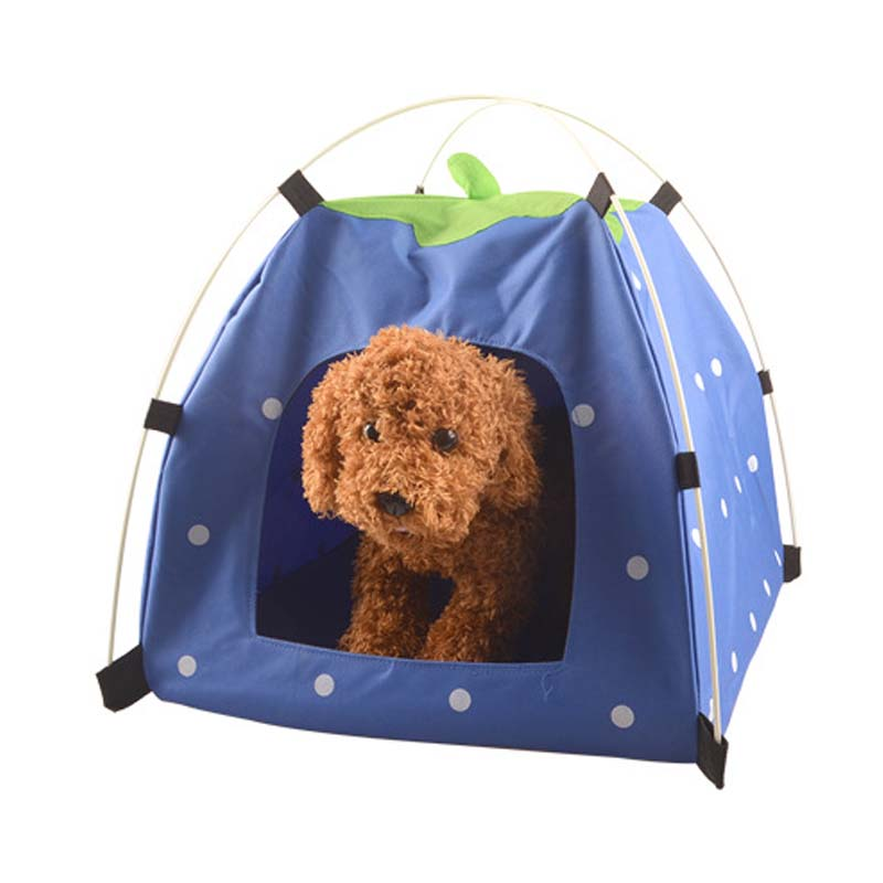 Pets Dogs Cats Bed Tent House Cage Outdoor Folding Portable Travel House Nest Bed Kennel Cushion  sc 1 st  AliExpress.com & Online Get Cheap Outdoor Dog Kennels for Small Dogs -Aliexpress ...