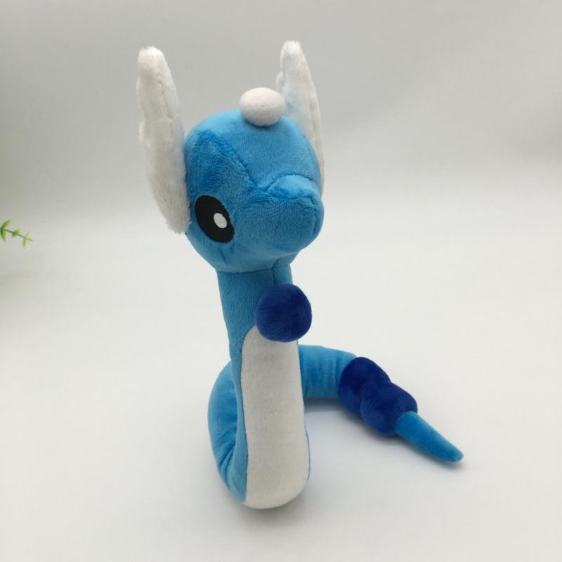 25cm Cute Pocket Monster Toys Kawaii Blue Dragonair Children's Gift Plush Toy Cartoon Character Plush Doll Gift for Kids/Baby