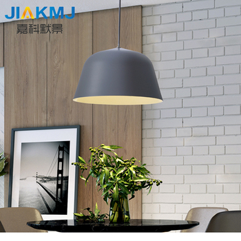 Simple and modern personality creative bar counter LED dining room restaurant single head chandelier office chandeliers