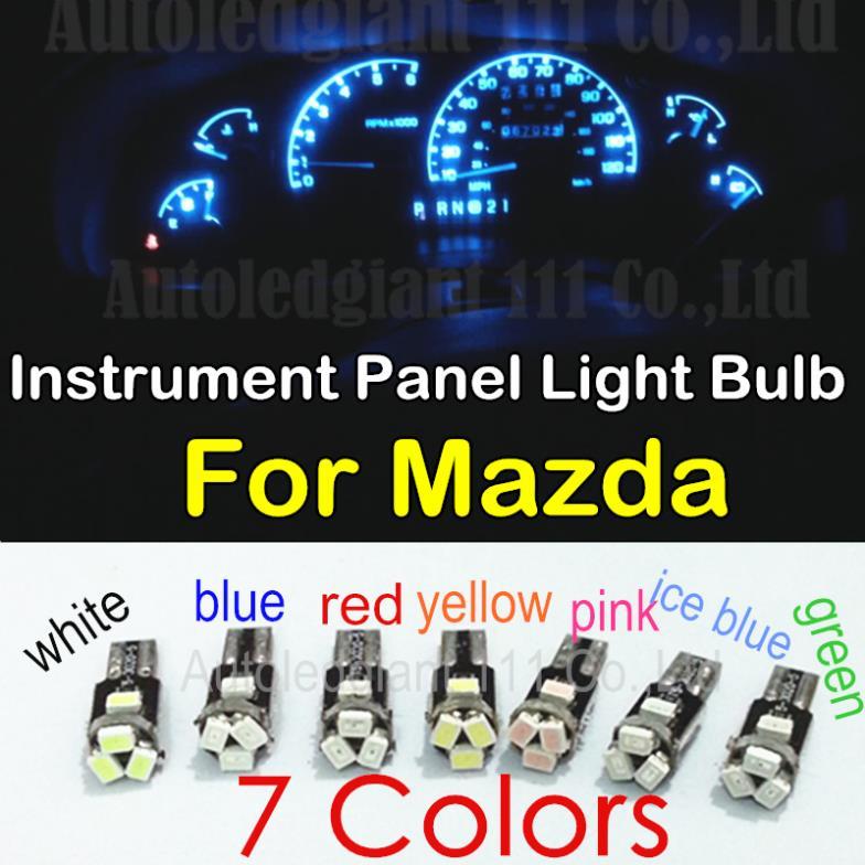 10pieces T5 Led For Mazda 3 5 6 2 Cx 5 Cx 7 Cx 9 Mx 3 Mx 5