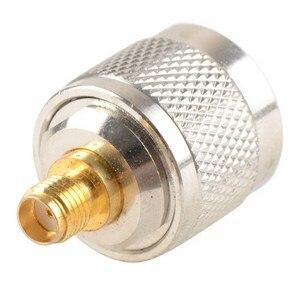 Image 1 - Adapter N Stecker Männlichen Nickel Plating Zu SMA Weibliche Vergoldung Jack RF Stecker Gerade VC720re P15 0,3