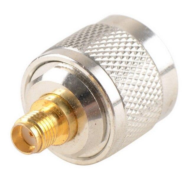 Adapter N Stecker Männlichen Nickel Plating Zu SMA Weibliche Vergoldung Jack RF Stecker Gerade VC720re P15 0,3