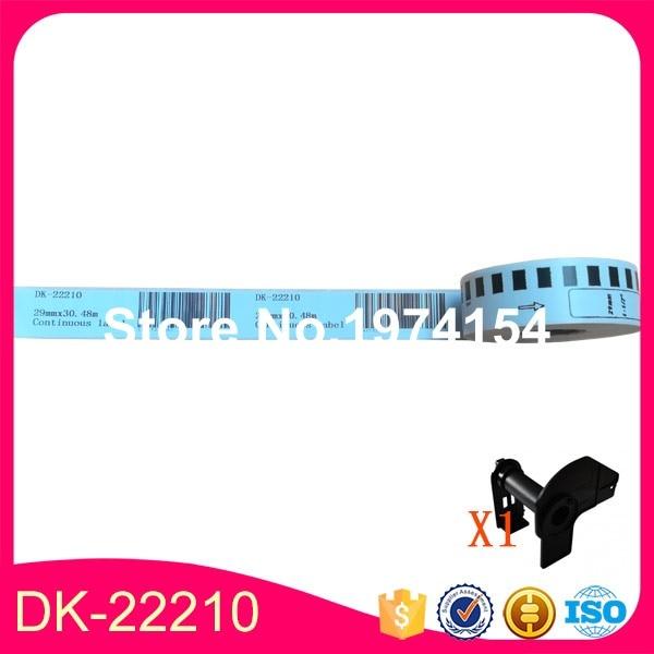 45x Rolls Brother Compatible Labels Dk 22210 Dk 22210 2210 Dk22210 Dk2210 29mm X 30 48m