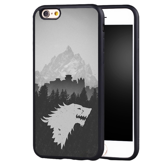 low priced 50ed4 babee US $4.99 |Relief Wolf Game Thrones case cover for Samsung Galaxy s6 S7 edge  S8 plus s4 s5 note 2 3 4 5-in Fitted Cases from Cellphones & ...