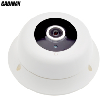 GADINAN Real Panorama 1 to 4 Multi-screen 960P 3D VR IP Camera 360 Degree View 3pcs Array IR 1.3MP CCTV Security Hi3518E iCSee