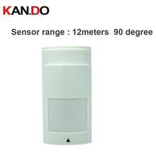 Indoor Wired Infrarood En Magnetron Detector Digitale Intelligente Motion Sensor Hoge Kwaliteit Paradox PA 525D Pir Alarm
