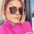 Aimade Lente Dos Óculos De Sol Das Mulheres Dos Homens Famoso Designer Da Marca Plana Estrela Celebridade Tendência Espelho Plano Óculos de Sol Masculino Óculos