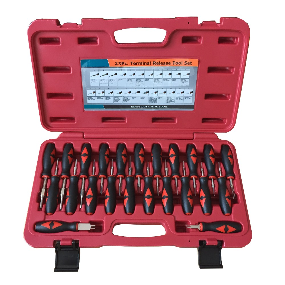 23 Pcs VAS1978 Harness Terminal Removal Tool For BMW Benz Au Di V W Release Dissemble Tool Set