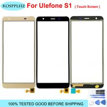 Ekran dotykowy do telefonu czujnik do ekranu dotykowego Ulefone S1 naprawa panelu części soczewki na wymianę Ulefone S1 Pro bez wyświetlacza LCD tanie tanio KOSPPLHZ For Ulefone S1 ≥5