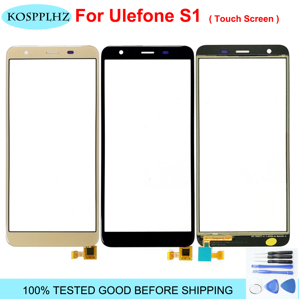Mobile Phone Touchscreen Sensor For Ulefone S1 Touch Screen Panel Repair Parts Replacement Lens Ulefone S1 Pro NO LCD Display