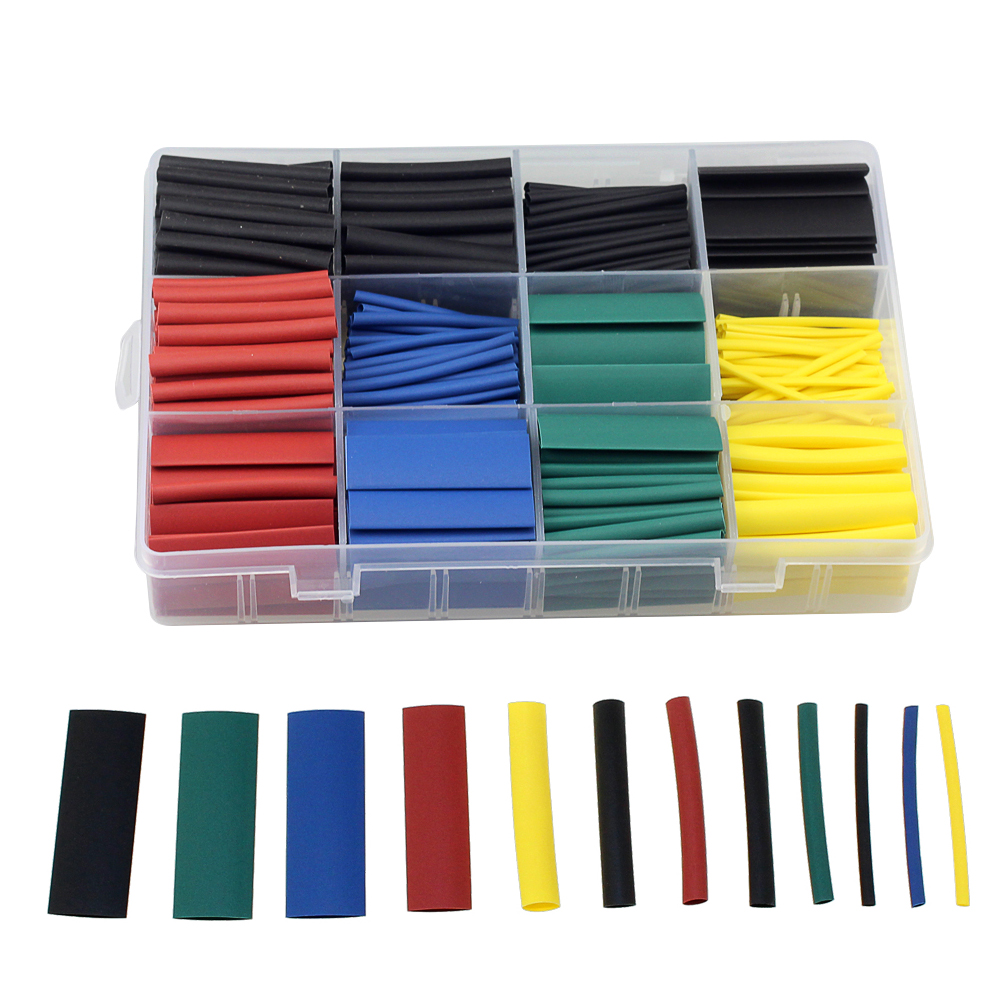 Heat Shrink Tubing Kit (530pcs)