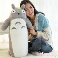 large 100cm pillow cartoon lovely cylindrical totoro plush toy soft pillow, birthday gift h845