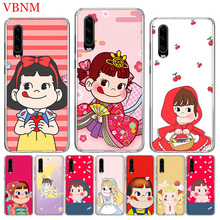 Peko Milky Girls Gift Popular Phone Case for Huawei P20 P30 Lite Pro P8 P9 P10 P Smart Nova 4 Gift Art Pattern Customized Cover цены онлайн