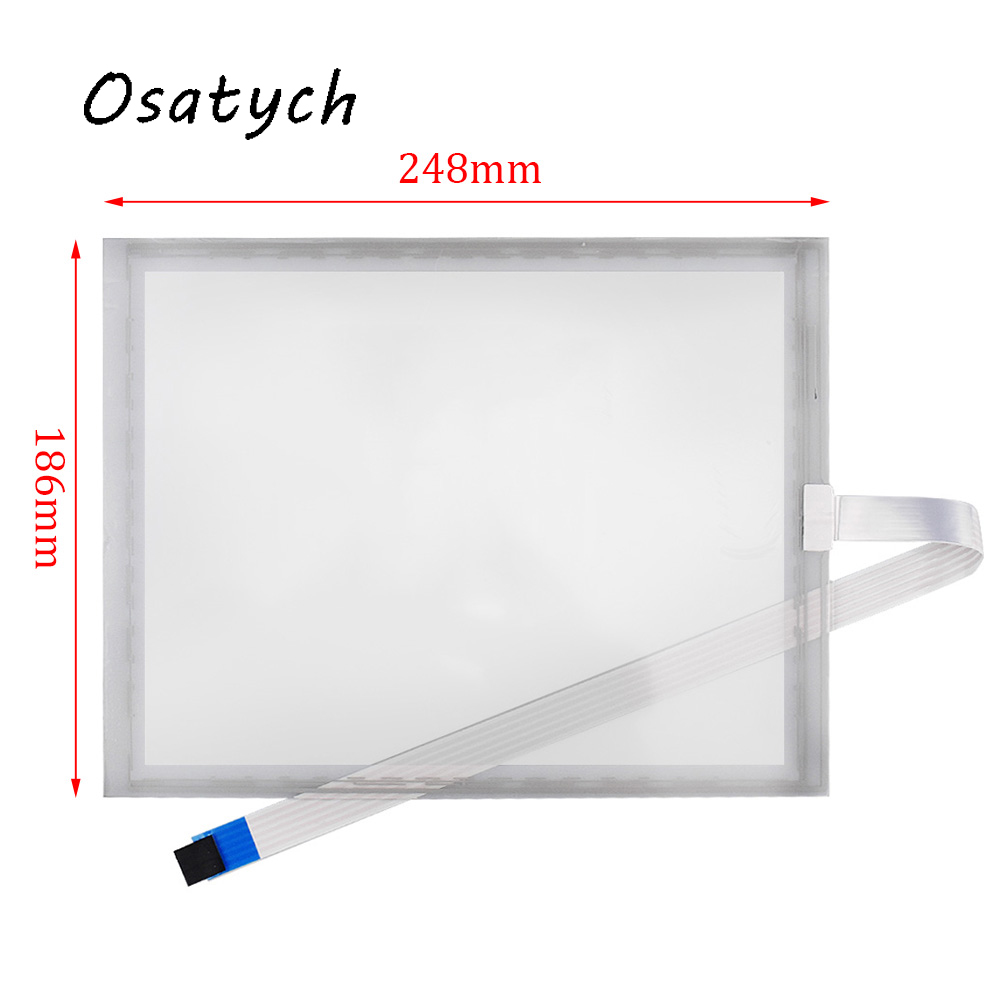 Original For 10.4inch ELO SCN-AT-FLT10.4-Z03-OH1 Resistive Touch Screen Panel Replacement Glass Monitor