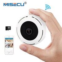 MISECU H 264 Wi Fi SD Card 3D VR 960P 360 Degree Fisheye IP Wireless Camera