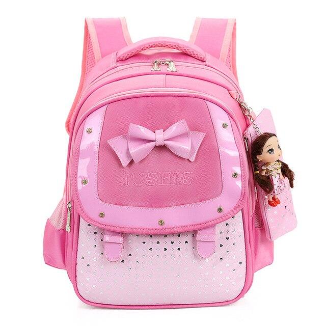 f68d5e941ef0 Cute Girls Backpacks Kids Satchel Children School Bags For Girls Orthopedic  Waterproof Backpack Child School Bag