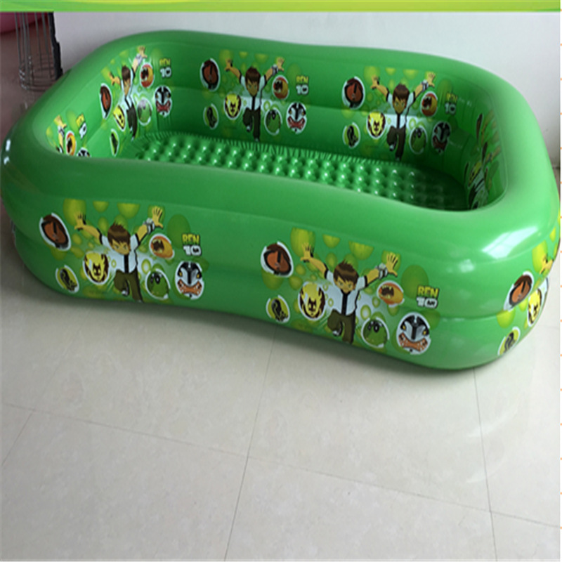 260*175*51CMBaby swimming pool Children's inflatable swimming pool Inflatable swimming pool children play pool Lmy902 thicker version deluxe edition 2 meters large family luxury inflatable swimming pool game pool children s play pool