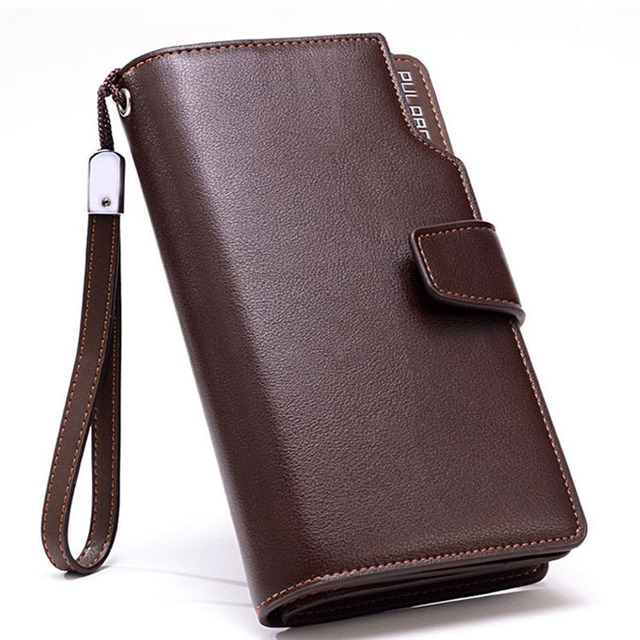 Men Wallets Brand Mens Wallet Male Purses With Zipper Wallets New Men Design Purse With Coin Cellphone Pocket Bag Big Capacity