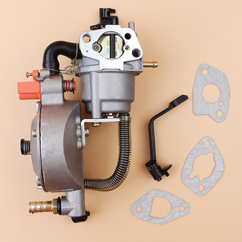 цена на Carburetor Dual Fuel Conversion Kit For HONDA GX160 GX200 168F 170F 2KW 3KW GENERATOR LPG/CNG GASOLINE Dual Fuel Carburetor Carb