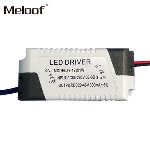 Image 5 - Pilote dalimentation à courant Constant LED V, alimentation électrique 1 3W 4 5W 4 7W 8 12W 18 24W, commande externe 265 ma pour Downlight LED