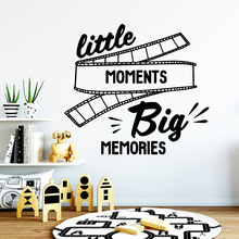 Romantic big memories Vinyl Decals Wall Stickers For Kids Rooms Decoration Decal Creative