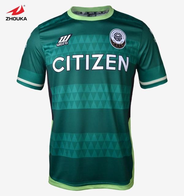Thai quality design full sublimation custom soccer jersey football uniform voetbal shirts camisetas futbol fussball trikot