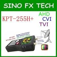 DVB S2 Цифровой HD Спутниковое Finder метр kpt 255h + 4.3 дюйма TFT ЖК дисплей шоу каналы Satellite Finder поддержка AHD CVI TVI
