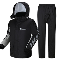 Bicycle Men Raincoat Rainwear Motorcycle Jacket Set Poncho Camping Waterproof Abrigos Mujer Impermeable Rain Cover Suit 60YY083