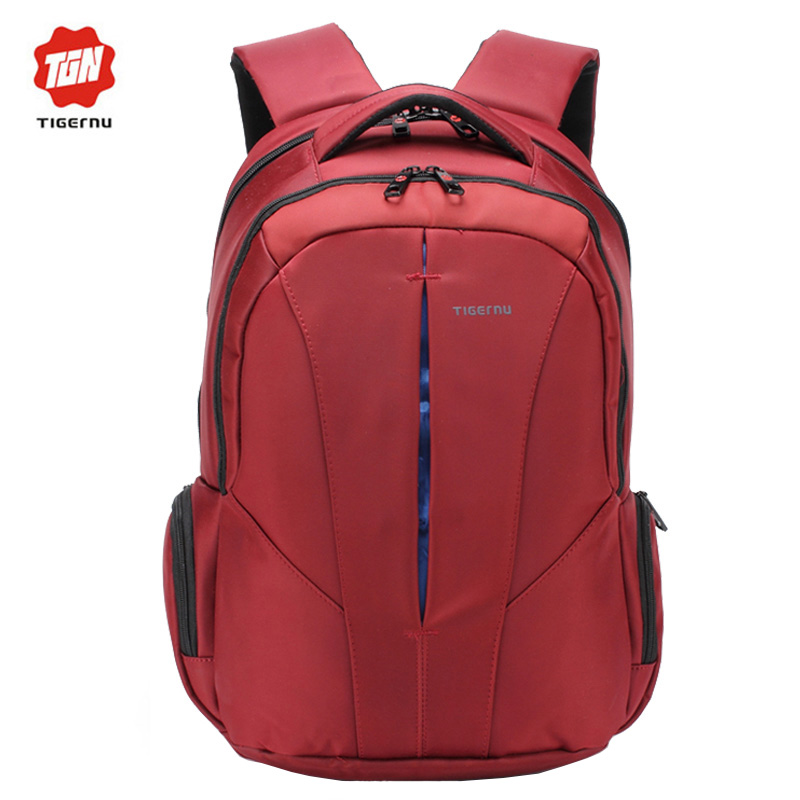 ФОТО Tigernu Backpack Student College Waterproof Nylon Backpack Men Women Material Escolar Mochila Quality Brand Laptop Bag Backpack
