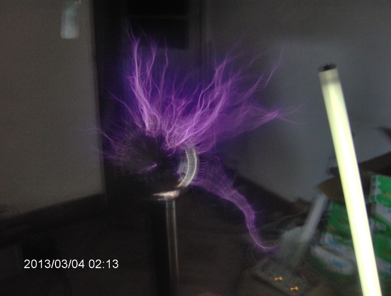 Freeshipping Small Tesla coil