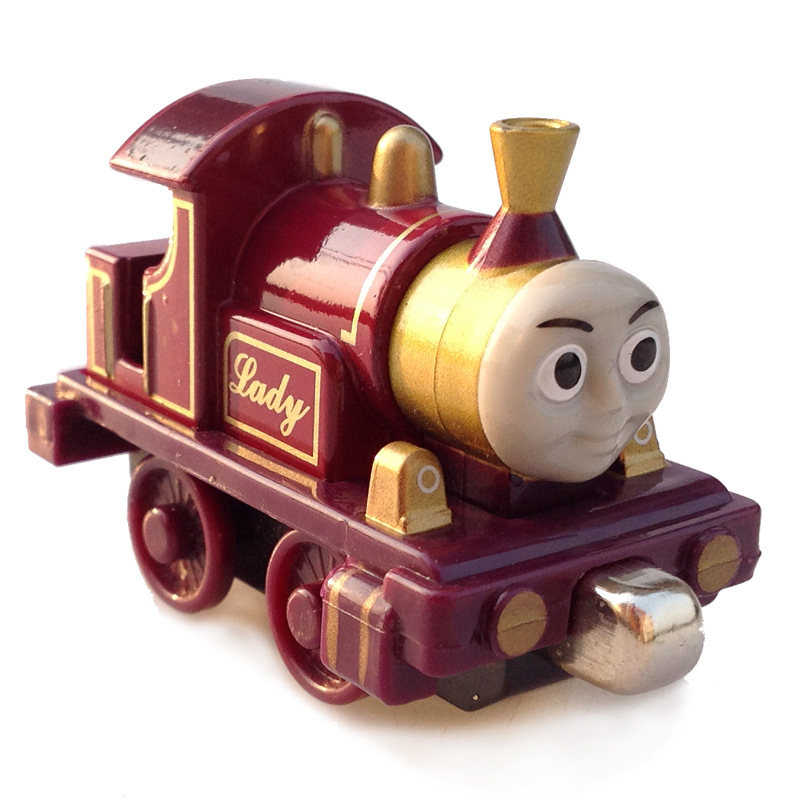 Alloy Lady Magnetic Diecast THOMAS and friend The Tank Engine take along train metal children kids toy gift ...