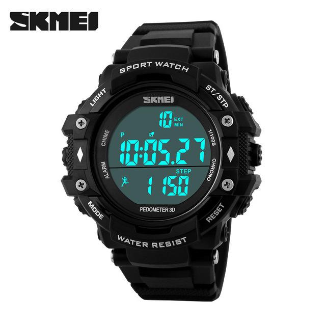 Top Marca Mens Sports Relógios LED Digital Relógio de Pulso dos homens de Moda Ao Ar Livre À Prova D' Água Relogio masculino Erkek Kol Saati
