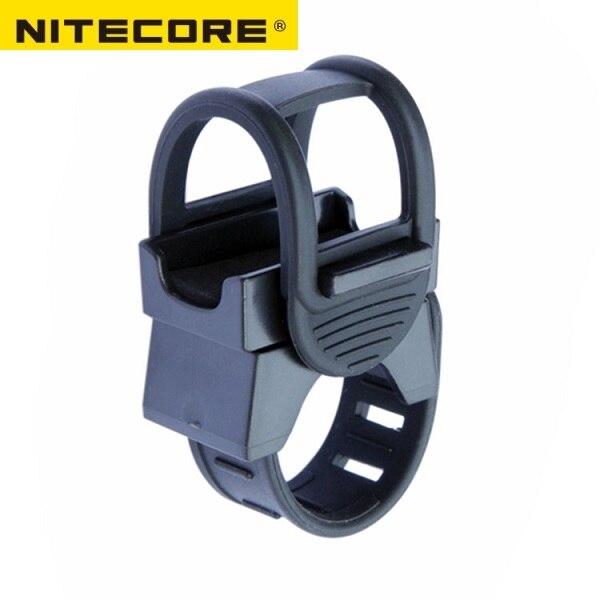 Велосипедное крепление NITECORE BM02, аксессуары для освещения, держатели для фонарика P05/P10/P12/P20 // MH12/MH10/EA11/EC21/EC20