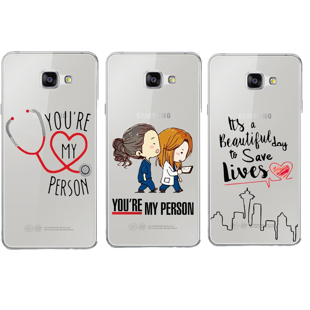 Promo Grey\'s Anatomy You\'re My Person Clear Soft Phone Cases Cover ...