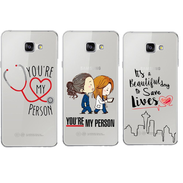 Grey\'s Anatomy You\'re My Person Clear Soft Phone Cases Cover for ...
