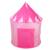 Portátil Barraca Castelo Da Princesa Rosa Crianças Pop Up Tenda Jogar Jogo Meninas Crianças Ao Ar Livre Casa (tamanho Aberto: 135 cm x 105 cm x 80 cm)