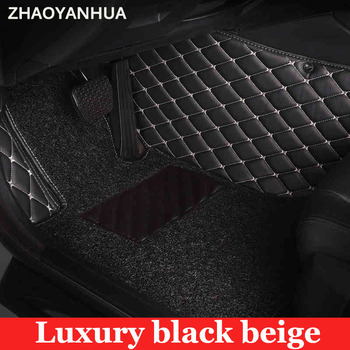 ZHAOYANHUA Custom fit car floor mats for Nissan Livina Teana Sylphy Qashqai X-Trail Sunny Morano TIIDA car styling carpet liner