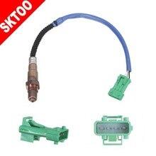 SKTOO Oxygen Sensor 0258006028 For Geely Emgrand CITROEN FIAT PEUGEOT, 4 wire oxygen sensor, free shipping O2