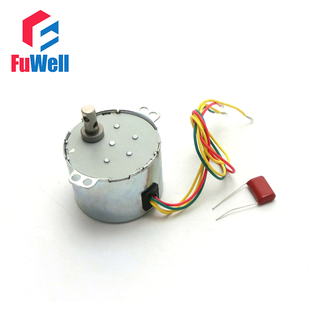 50KTYZ Metal Shell 1.5r/min 6W Watts 50Hz AC 220V Fan Synchronous Gear Box Motor 220V