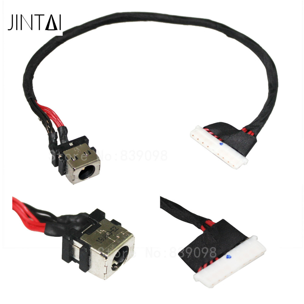 Jintai DC POWER JACK W/ CABLE replace FOR ASUS ROG GL752 GL752V GL752VL GL752VW GL752VWM GL752VW-DH71 GL752VW-DH74 GL752VW-RH71 brand new dc power jack for asus g71 g71g g71gx g73 g73j g73jh g73jw g73sw x83 x83v x83vm m50vn m50s m50v m51v 2 5mm