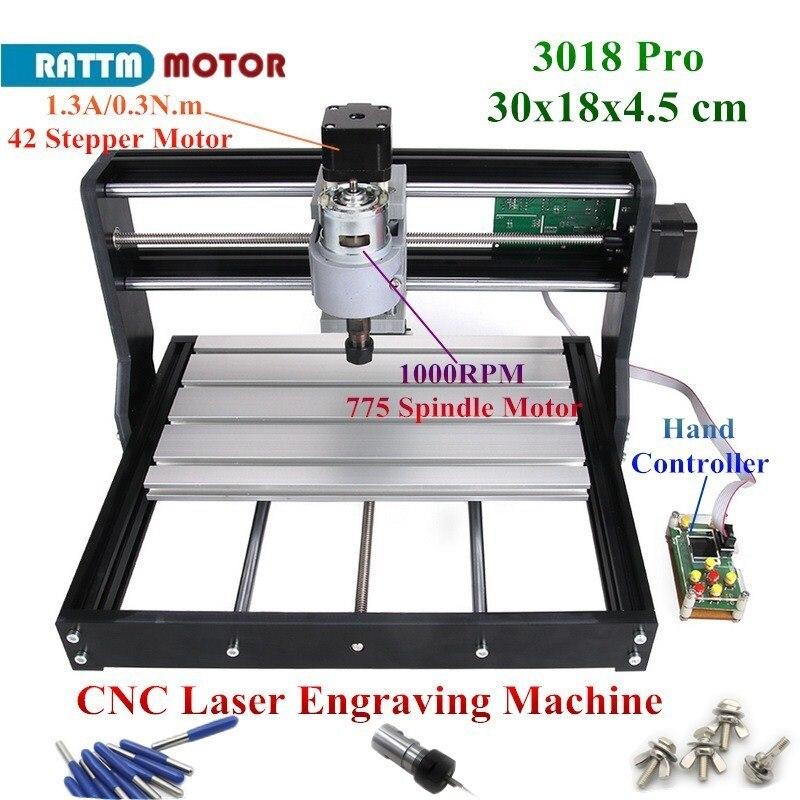 Details about CNC Mini 3018 Pro Desktop Cutter Engraver DIY GRBL Pcb Wood  Router Laser Machine