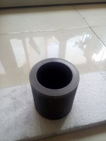 ФОТО Dia80x H90mm high purity melting graphite crucible for melting metal