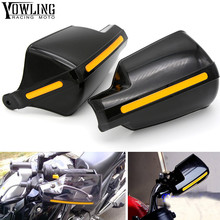 Motorcycle wind shield Brake lever hand guard For Yamaha YZF R1/R125/R15/R1M/R25/R3/R6 with Hollow Handle bar 7 8 handle universal cnc brake clutch lever protective guards bar ends for honda kawasaki suzuki yamaha yzf r1 r3 r6 r25