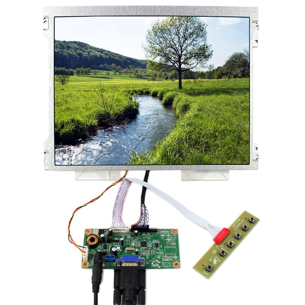 VGA LCD Controller Board+12.1 M121GNX2 1024x768 LED Backlight LCD Screen